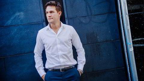 Møter motstand: Uber-sjef Carl Edvard Endresen leder et selskap som er politianmeldt to ganger og behandles som pirattaxivirksomhet av politiet. Foto:Hampus Lundgren