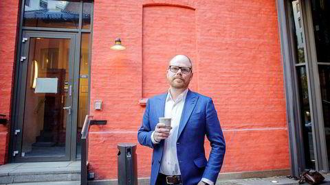 Sjefredaktør og administrerende direktør i VG, Gard Steiro, har grunn til å smile.
