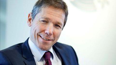 Niels Petter Wright ble ansatt som konsernsjef i Norske Skog i desember i fjor. Nå går han av.