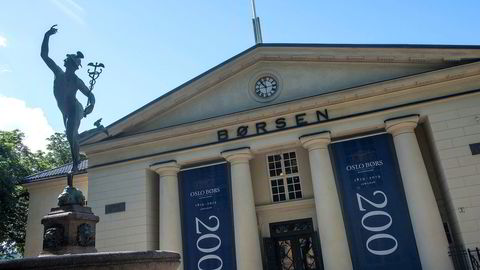 Utviklingen på Oslo Børs er foreløpig godt i pluss, der hovedindeksen er opp rundt 8,5 prosent hittil i år.