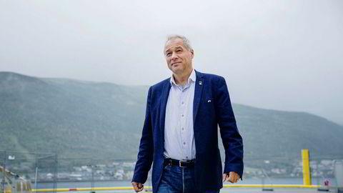 Frode Nilsen leder familiekonsernet Leonhard Nilsen & Sønner, som i fjor tapte nesten en halv milliard kroner. Så langt i år er selskapet imidlertid tilbake i pluss. Foto: