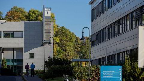 Johan H. Andresens selskap Ferd og Snøhetta har kastet sine øyne på NRKs tomt på Marienlyst i Oslo.
