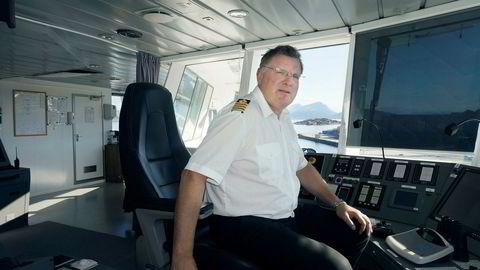 Selskapene er mest opptatte av å trenere og hale ut tiden, sier kaptein Harald Weines.