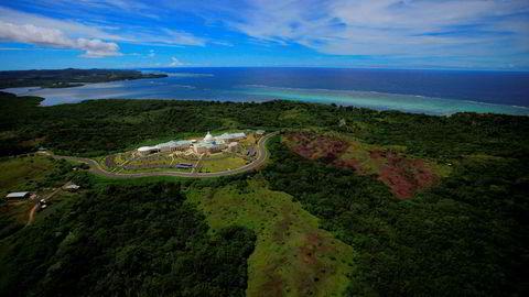 Øystaten Palau ber Australia gjøre mer for å stoppe klimaendringene. Palau består av mer enn 300 øyer.