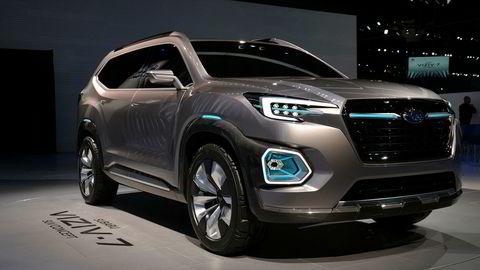 Subaru Viziv-7 er en av konseptbilene som vises i Los Angeles.