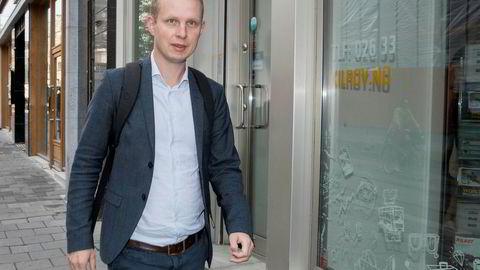 KrF-topp Erik Lunde.