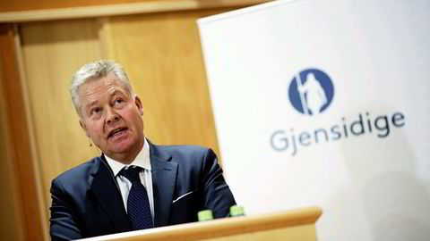 Konsernsjef Helge Leiro Baastad i Gjensidige. Foto: