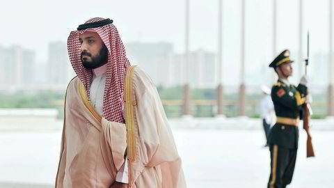 Saudi-Arabias kronprins Mohammed bin Salman.