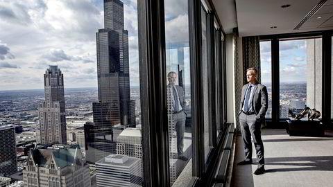 Daniel C. Sprehe, direktør for JPMorgan Chases avdeling for samfunnsansvar, styrer storbankens sosiale programmer i 13 delstater.