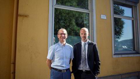 Administrerende direktør Ivar Brandvold og finansdirektør Hjalmar Krogseth Moe i riggselskapet Fred. Olsen Energy. I juli la de frem et driftsresultat for andre kvartal som viste et tap på 1,6 milliarder kroner i perioden.