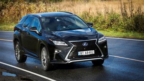Lexus går for syvende år på rad helt til topps i AutoIndex. Dette er hybridsuven RX 450h.