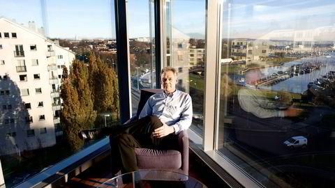 Norgessjef Hugo Sandal i DEA vil være med å utvikle norsk sokkel.                   Foto: Øyvind Elvsborg