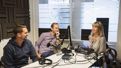 Karl Alveng Munthe-Kaas, Bård Bjerkholt og Marte Ramuz Eriksen. Foto: Sigurd Fandango