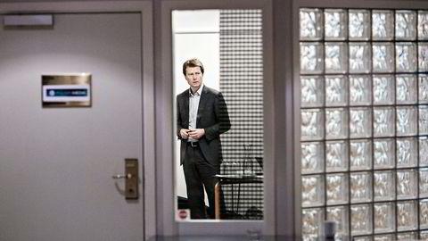 Polaris-sjef Per Axel Koch måtte i første kvartal konstatere en svak utvikling i annonseinntektene som følge av svakere utvikling i norsk økonomi og endringer i medieøkonomien. Foto: Aleksander Nordahl