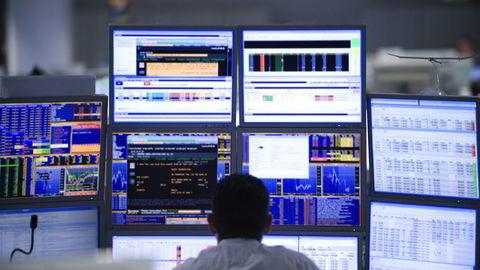 Europeiske børser faller tungt onsdag. Aksjestrateg Jan von Gerich i Nordea Markets råder imidlertid kundene til å ikke selge alt. Illustrasjonsfoto: