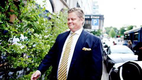 Investor Tore Aksel Voldberg, her på vei inn på Theatercaféen i Oslo i 2013.