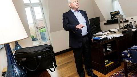 – Vi er nærmere en løsning, sier John Fredriksen. Nå jobber han natt og dag for å redde det finansielt skakkjørte riggselskapet Seadrill.