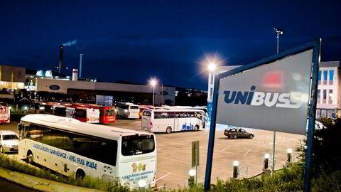 Sommeren 2011 ble det avdekket at det tyske selskapet MAN hadde betalt ut millionbeløp for å sørge for at norske Unibuss kjøpte inn deres busser. Foto: