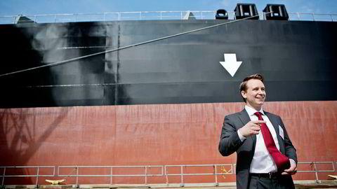 Kristian Monsen Røkke har flere styreverv i far Kjell Inge Røkkes selskapssystem. Foto: