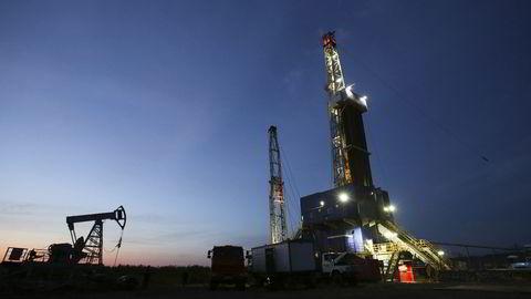 Her fra oljeproduksjon ved Almetyevsk i Russland. Foto: Andrey Rudakov/