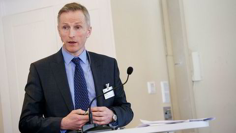 Helge Hammer, sjef i Faroe Petroleum Norge.