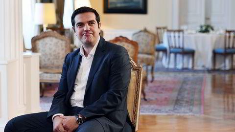 Alexis Tsipras har varslet at han trekker seg fra statsministerposten, og ønsker nyvalg. FOTO: