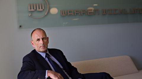 Peter Warren opplever at selskapet som bærer hans navn inngår et forlik i en sak fra WarrenWicklund-tiden. Foto: Johannes Worsøe Berg