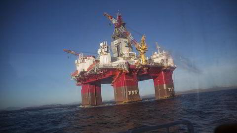 Lavere inntekter fra olje- og gassektoren trekker handelsbalansen kraftig ned.  Foto: Eivind Senneset, Dagens Næringsliv.