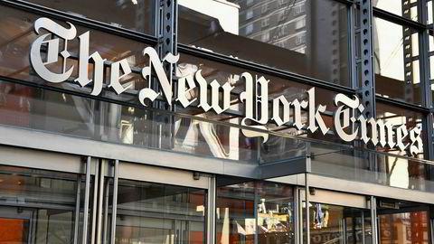 The New York Times gjør det rekordbra, mye takket være at Donald Trumps presidentskap har økt interessen for politisk og undersøkende journalistikk.
