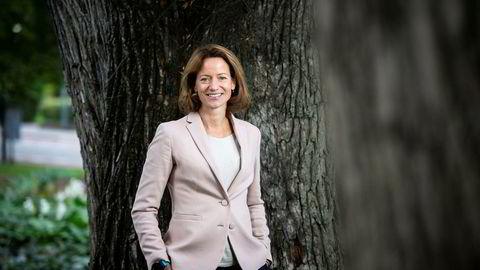 Hege Yli Melhus Ask begynner som ny konsernsjef i NHST 1. november. Hun overtar som sjef for et medieselskap med stabil økonomi, men med regnskaper litt i minus.