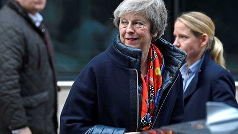 Det blir helgejobbing på Storbritannias statsminister Theresa May, som lørdag reiser til Brussel igjen.