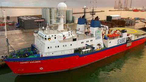 Seabird-fartøyet «Osprey Explorer».
