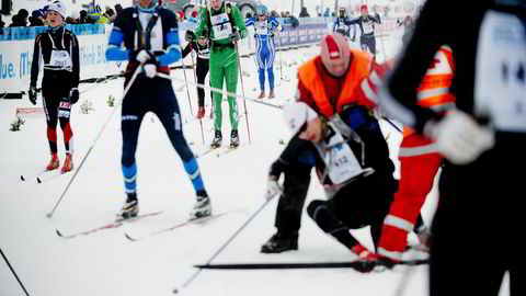 Birken-arrangementene har opplevd en solid nedtur etter toppårene frem til 2014. Her fra 2013 da trykket på påmeldinger fortsatt var ekstremt stort.  Foto : Thomas Haugersveen