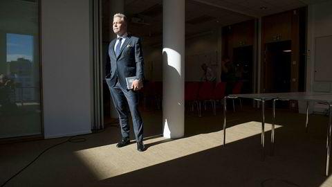 – For 2018 er vi ikke fornøyde med de underliggende resultatene, sier konsernsjef i Gjensidige Forsikring, Helge Leiro Baastad.