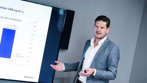 – Selv om renten går opp, vil de aller fleste få mer å rutte med, sier sjeføkonom Kjetil Olsen i Nordea.