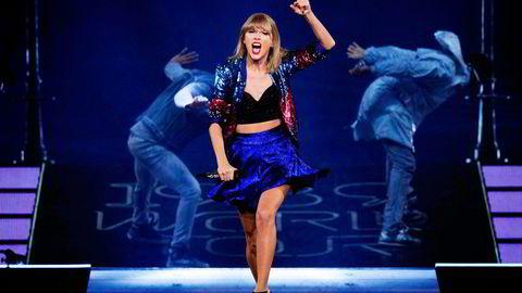Artisten Taylor Swift (bildet) er en av flere hundre artister som har protestert mot Youtubes vederlagsbetaling til platebransjen.                   Foto: Christopher Polk, AFP/NTB Scanpix