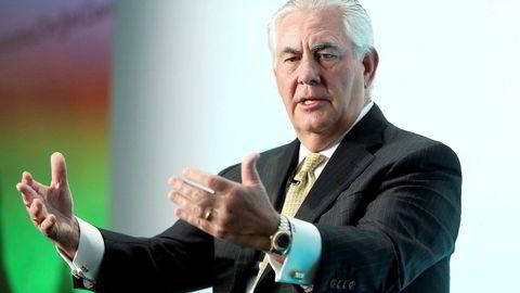 Tidligere ExxonMobil-sjef Rex Tillerson er USAs påtroppende utenriksminister, men han var ikke informert om president Donald Trumps planer om å stenge grensene.