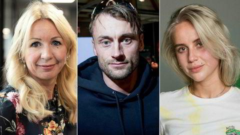 Anne Brith Davidsen (t.v.), Petter Northug, og Anniken Jørgensen har alle opplevd å få bøkene sine forsøkt stoppet.