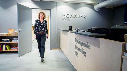 Hildur Mork kjemper for rettighetene til medlemmene i fagforeningen Parat Media, som mister jobben i Bonnier Media.
