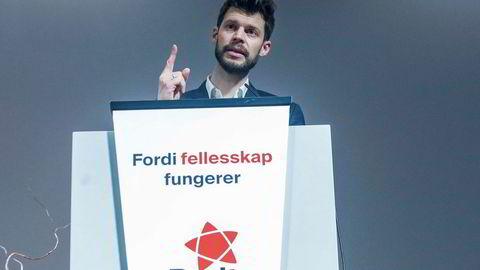 Leder Bjørn Moxnes i Rødt tapte kampen på partiets landsmøte i helgen mot ordet «kommunisme».