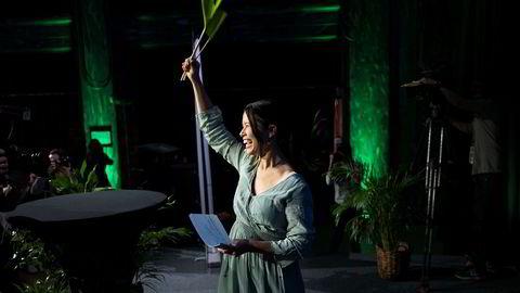 Oslobyråd Lan Marie Nguyen Berg fra Miljøpartiet De Grønne er i den luksusposisjonen at hun kan velge blokk i hovedstaden etter brakvalg mandag.
