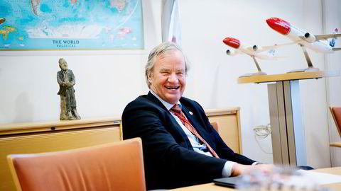 Nest best i april var Norwegian og Bjørn Kjos med en kursoppgang på 19,1 prosent. Foto: Mikaela Berg