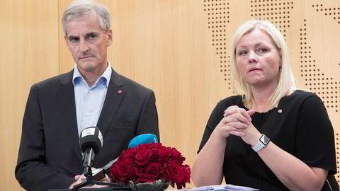 Det var på en pressekonferanse i oktober 2017 at Arbeiderpartiet la frem den interne evalueringen av valgresultatet.