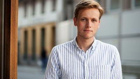 Unge Venstre-leder Sondre Hansmark mener systemet for opptak til høyere utdannelse er utdatert.