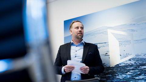 Administrerende direktør i Eiendom Norge, Christian Vammervold Dreyer.