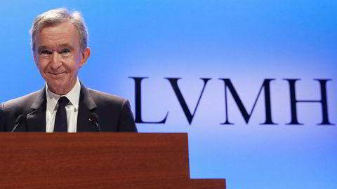 Administrerende direktør i LVMH, Bernard Arnault.