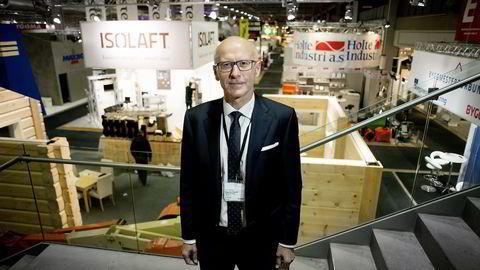 Administrerende direktør Halvard Gavelstad i Bygg Reis Deg mener norsk byggenæring stadig blir internasjonalisert. Foto: Mikaela Berg