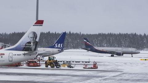 Gardermoen opplevde en vekst i flytrafikken på 4,2 prosent i november sammenlignet med samme periode i fjor. Foto: Berit Roald /