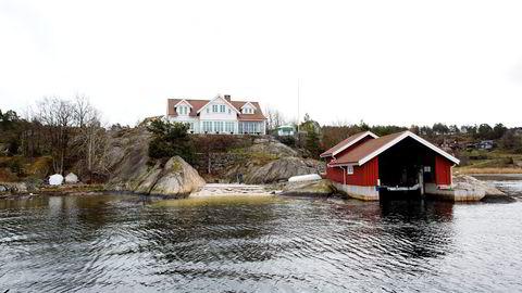 Investor Rune Sundvall kjøpte naboeiendommen til familiehytta på Skåtøy i Kragerø for 32 millioner kroner. Foto: Tom W. Christiansen