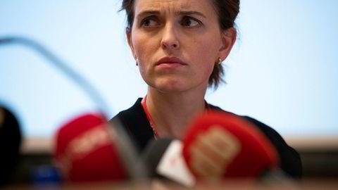 VGs nyhetsredaktør Tora Bakke Håndlykken la frem avisens egen granskning av Giske-saken. Nå har Sofie klaget saken til PFU.